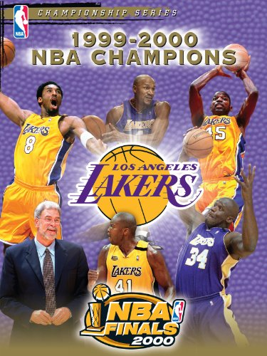 1999-2000 NBA Champions - Los Angeles Lakers