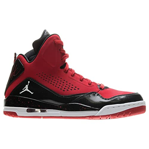 Nike Air Jordan SC-3 Mens Basketball Shoes 629877-601 Gym Red White Black  12 D(M) US  Amazon.in  Shoes   Handbags 866dd26a9