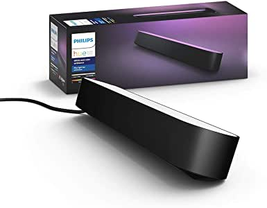 Philips Hue Play - White & Colour Ambiance Smart LED Bar Light - Black (Extension)