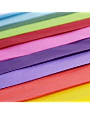 "50 x Multi Coloured Tissue Paper / Gift Wrap / Wrapping Paper Sheets (20"" x 30"")"