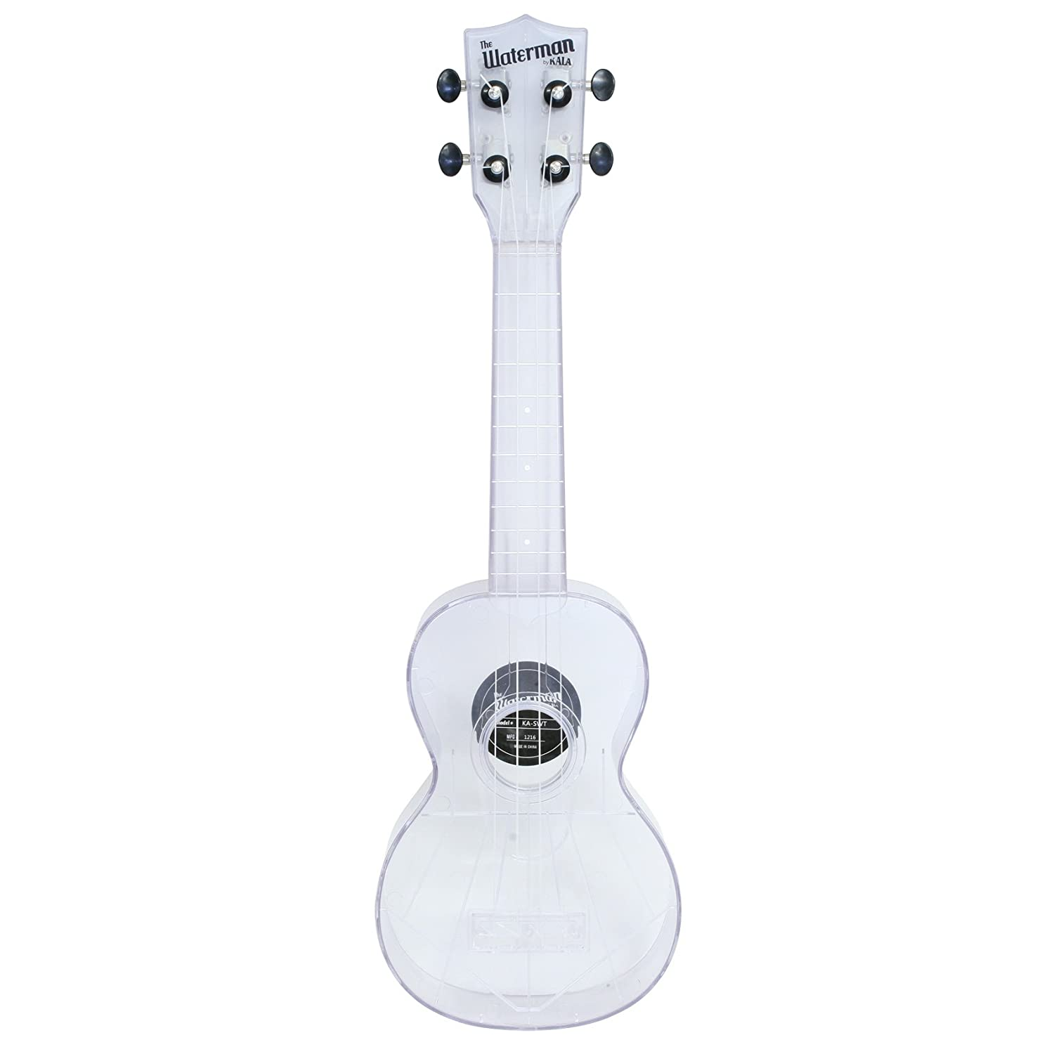 Kala Makala Waterman Sopran Ukulele Clear Top Amazon Musikinstrumente