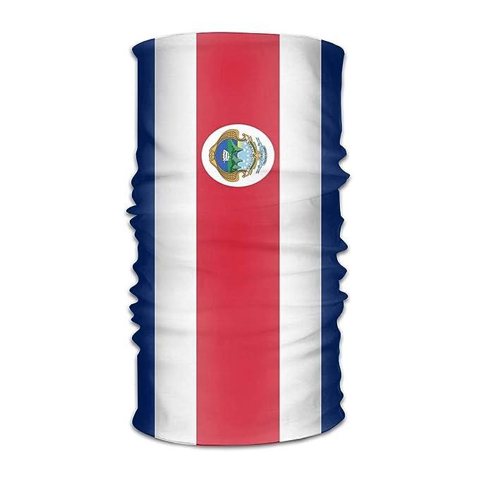 Headwear Flag of Costa Rica Outdoor Scarf Bandana Cintas para la cabeza: Amazon.es: Ropa y accesorios