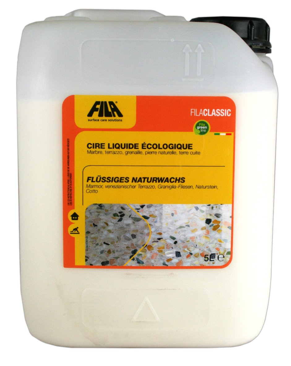 FILA CLASSIC Liquid wax for terracotta, marble, stone and agglomerates 5 liter