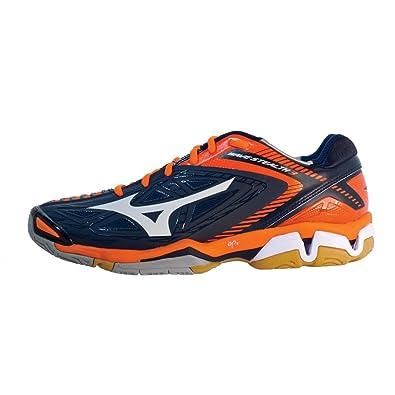 38462dd43e00 Mizuno Wave Stealth 3 Court Shoes, Dress Blue, White, 10: Amazon.ca ...