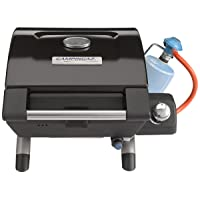 Tischgrill Campingaz COMPACXT EX CV 1-flammig schwarz klein Camping Balkon Picknick ✔ Deckel ✔ eckig ✔ tragbar ✔ Grillen mit Gas ✔ für den Tisch
