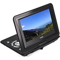 DVD Player, 13.9inch HD TV Portable DVD Player 800*480 Resolution 16:9 LCD Screen (AU)