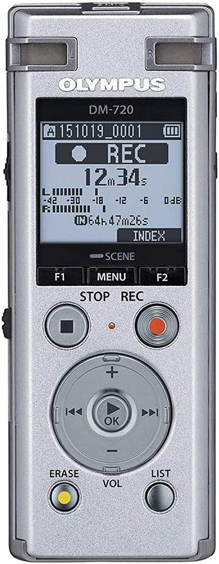 Olympus Dm 720 Diktiergerät Silber Elektronik