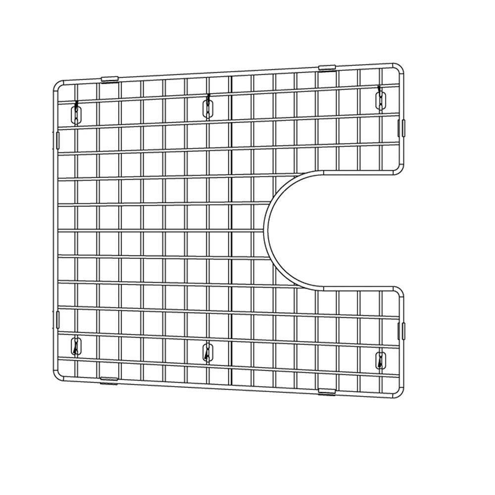 Blanco 226828 Sink Grid, Fits Performa Silgranit II 1-3/4 medium 1-3/4, Large bowl, Chrome