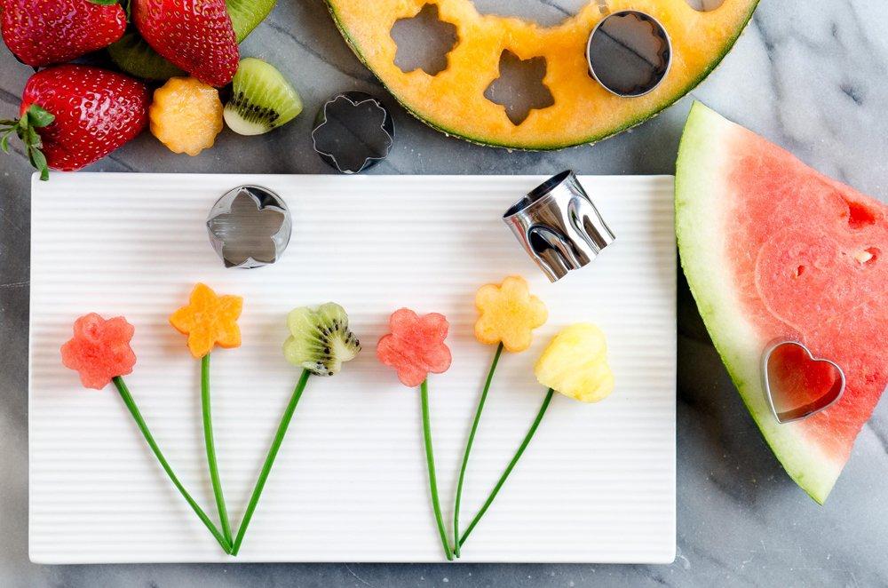StarPack Vegetable Cutter Shapes Set (5 Piece)