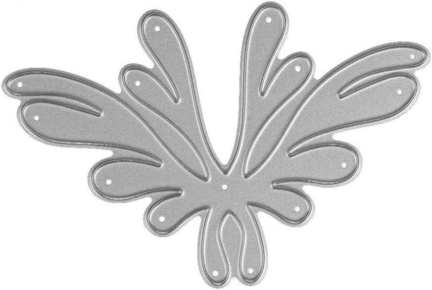 3pcs Leaves Metal Cutting Dies Stencils DIY Scrapbooking//photo album Decor LY