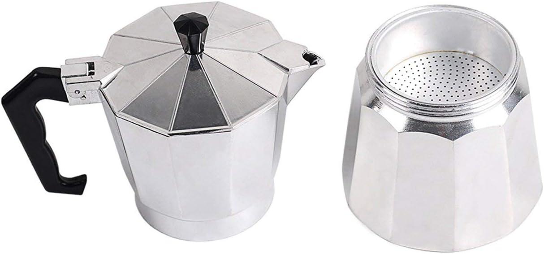3 Cups Lorenlli Kaffeemaschine Aluminium Mokka Espresso Perkolator Kanne Kaffeemaschine Mokka Kanne Espresso Shot Maker Espressomaschine