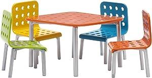Lundby 60 9050-00 Patio Furniture Set, Doll's House, Multi