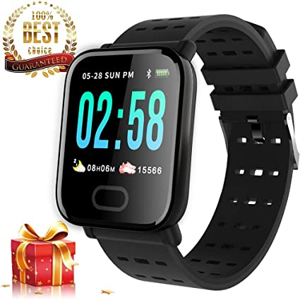 Amazon.com: Smart Watch Fitness Tracker para hombres y ...