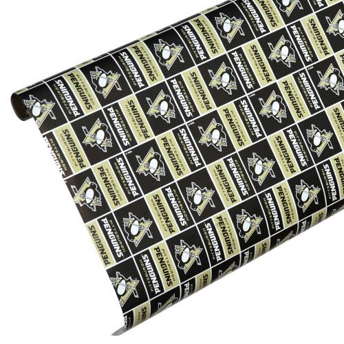Pittsburgh Penguins Team Wrapping Paper - Nfl Wrapping Paper