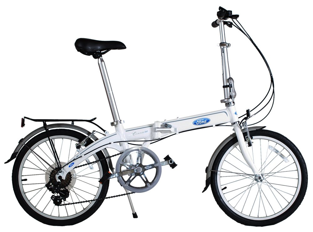 Ford by Dahon Convertible 7 Speed Folding Bike