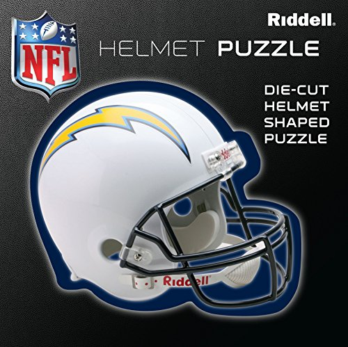 San Diego Super Chargers Team Helmet Puzzle