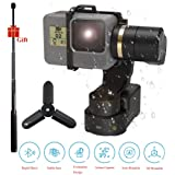 FeiyuTech Feiyu WG2X Wearable Gimbal Stabiliser with Extension Rod and Mini Tripod Action Camera Gimbal Compatible with GoPro Hero 7/6/5/4/Session of any Similar Size Camera