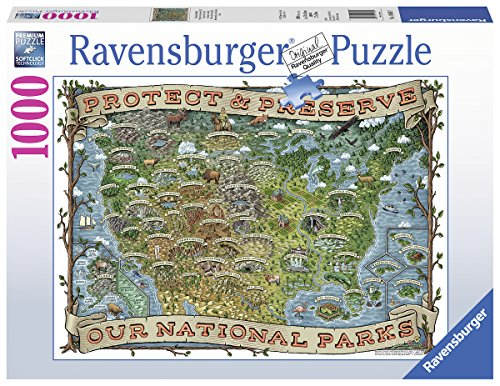 - Ravensburger Protect and Preserve USA-1000 Piece Jigsaw Puzzle