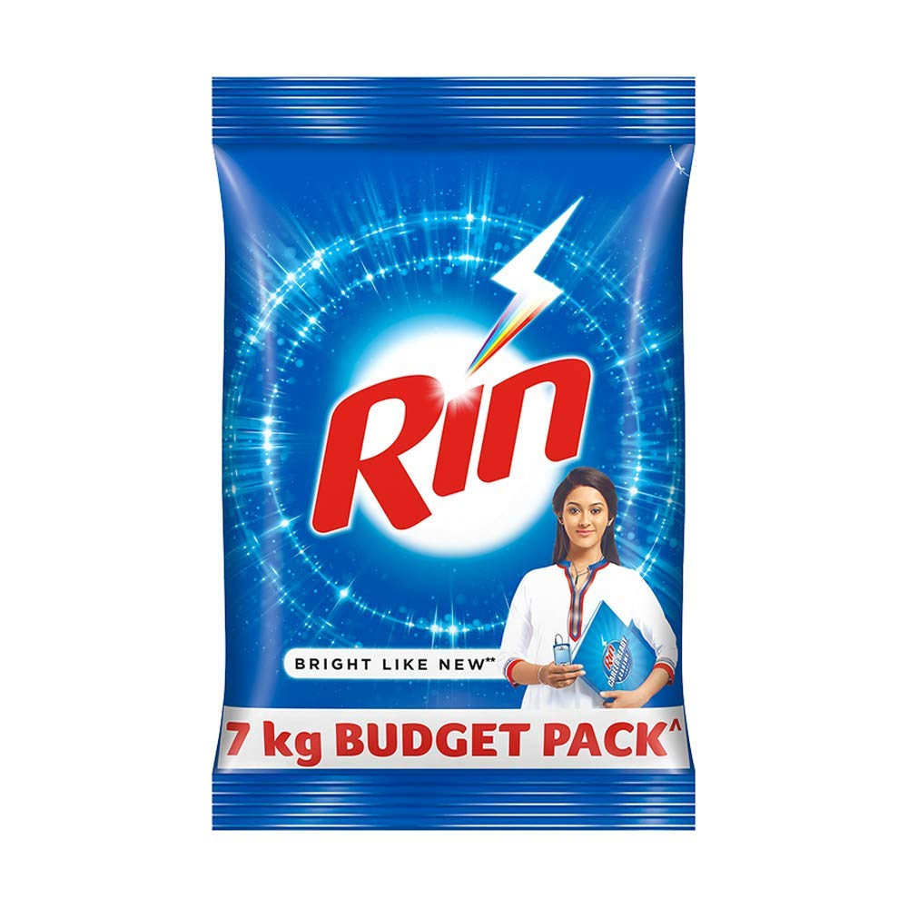 Rin Advanced Detergent Powder, 7kg