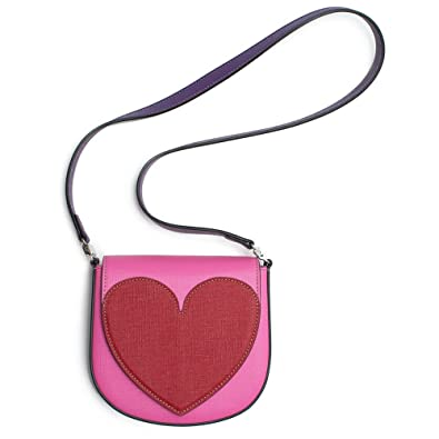 f090913d6be Amazon.com  Gucci Heart Borsa Kids Leather Girls Pink Red Handbag New  Authentic  Shoes