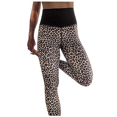 Womens Ladies Full Length Animal Leopard Print Stretchy Legging Trouser UK 8-26