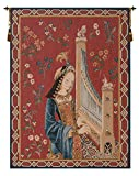 Dame A La Licorne I French Wall Art Tapestry