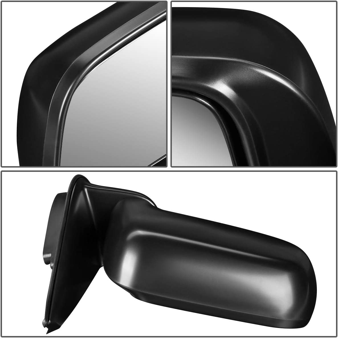 DNA Motoring OEM-MR-HO1321115 Factory Style Powered Right Side Door Mirror