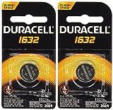 Duracell CR1632 1632 Car Remote Batteries