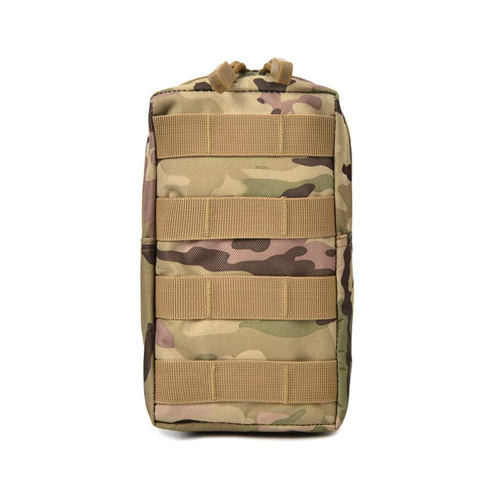 Emorias 1 Pcs Bolsillo T/áctico Camuflaje Militar Viaje Salvaje Almacenamiento Ri/ñonera Unisex Port/átil Bolsa de Cintura Verde