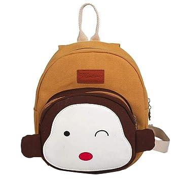 US Boy Girl Kid Nursery Toddler Animals Monkey Bag Backpacks Schoolbag Mini Bags