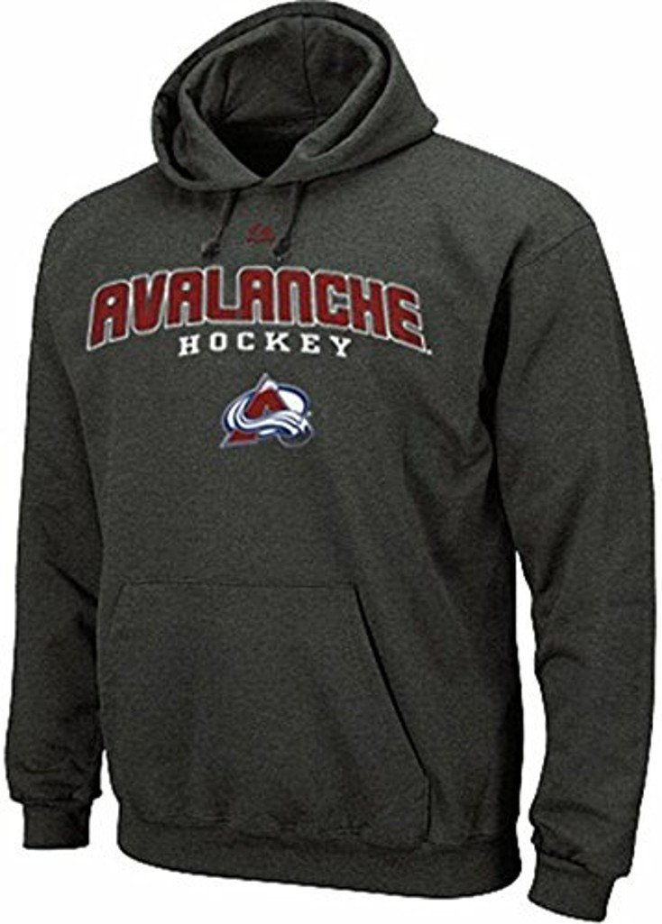 Colorado Avalanche NHL Majestic enzima gris sudadera con ...