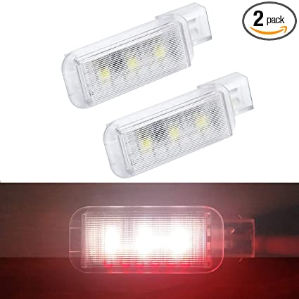 Amazon com: 2Pcs Easy Setup Car Door LED Flashing Signal Lights for