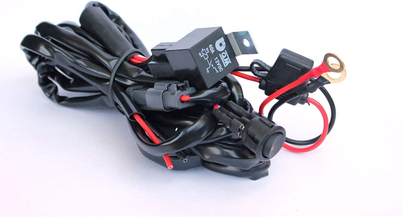 Ytian Wasserdichtes Kabelbaum Kabelsatz Set Mit 40a Elektronik