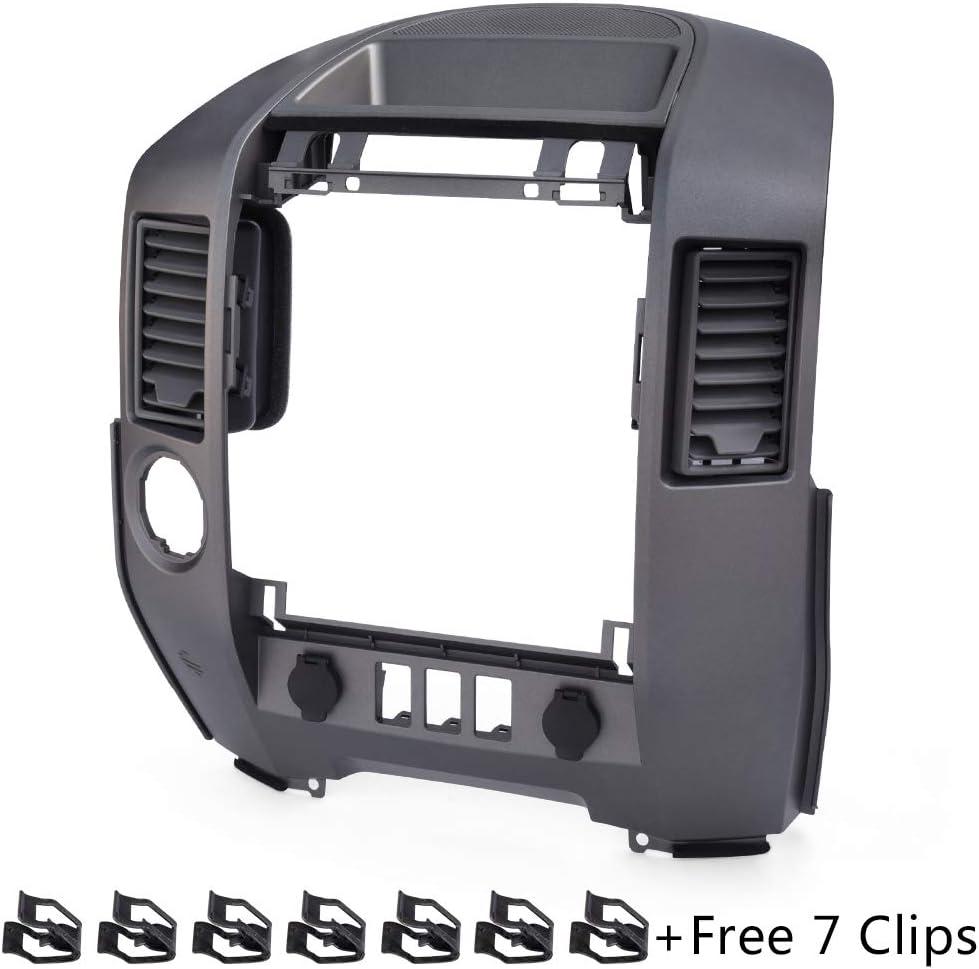 New For Nissan Titan SE & XE/Armada 2004-2006 Instrument Trim Panel Lid Finisher Bezel WITH Center Speaker 2005