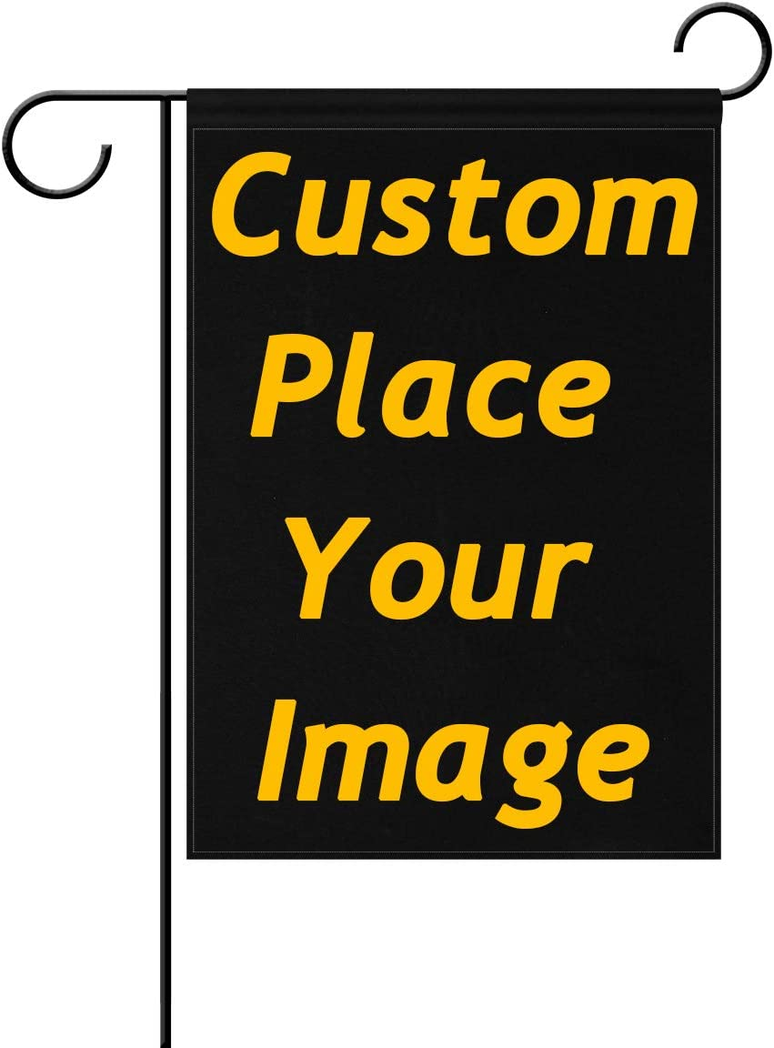 ALAZA U Life Custom DIY Personalized Garden Flag Spring Summer Winter Autumn Flags Yard Banner Outside House Flower Pot Double Side Print 28 x 40 inch