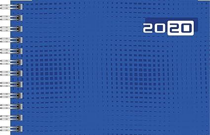 Rido Taschenkalender Septimus blau 1Woche//2Seiten 2020