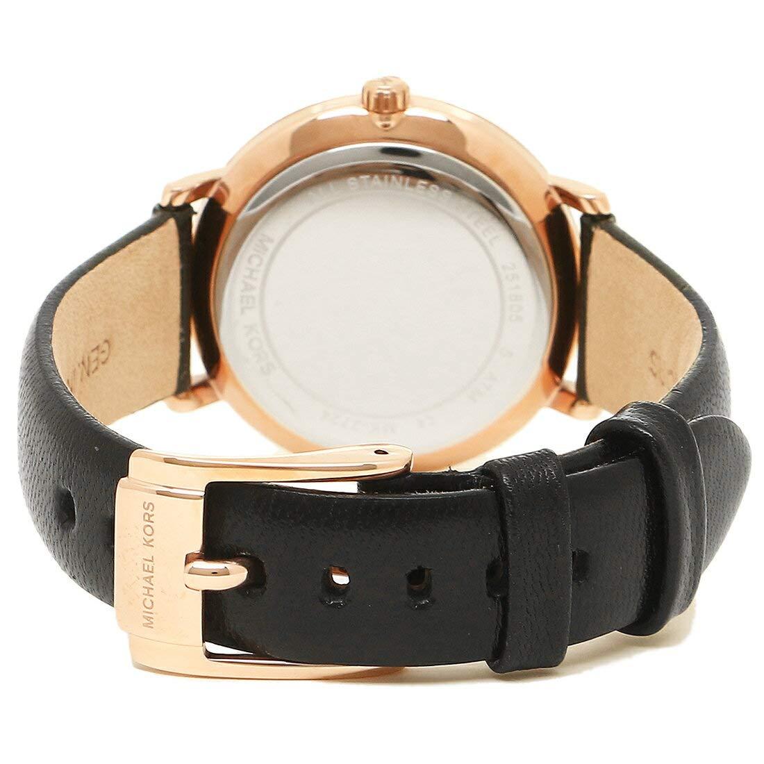 5534019543eb Amazon | [マイケルコース]腕時計 ペアウォッチ レディース メンズ MICHAEL KORS MK3859 ブラック ローズゴールド ホワイト  [並行輸入品] | ジュエリー 通販