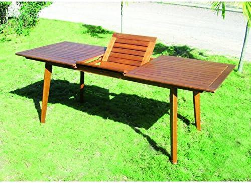Muebles Jardín de Madera de eucalipto Tata linda mesa RETT ...