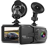 "Dash Cam,SASRL Dash Camera for Cars with Full HD 1080P 170 Degree Super Wide Angle Cameras, 3.0"" TFT Display, G-Sensor, Night Vision, WDR, Loop Recording"