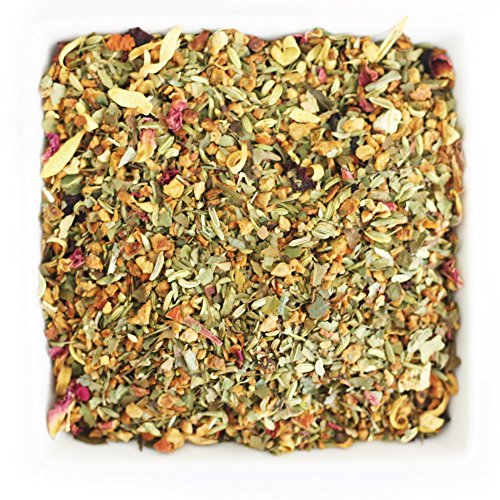 Tealyra - Summer Strawberry Rhubarb - Fennel - Beetroot - Orange - Detox - Digestive Wellness Herbal Loose Leaf Tea - Caffeine free - 112g (4-ounce) ()