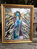 Angel Stained Glass Window Art Sun Catcher Christain Art