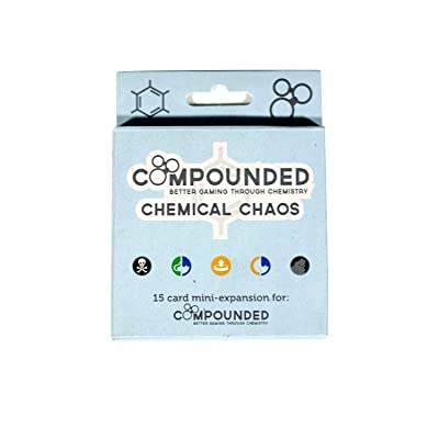 Compounded: Chemical Chaos Expansion Card Game: Toys & Games