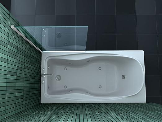 Fixe esta – Mampara de ducha 75 x 160 (bañera): Amazon.es: Bricolaje y herramientas