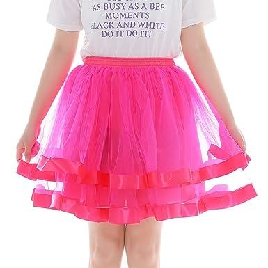 BAMD=NB - Falda de Tul para Mujer, Falda de Tul de los años 50 ...