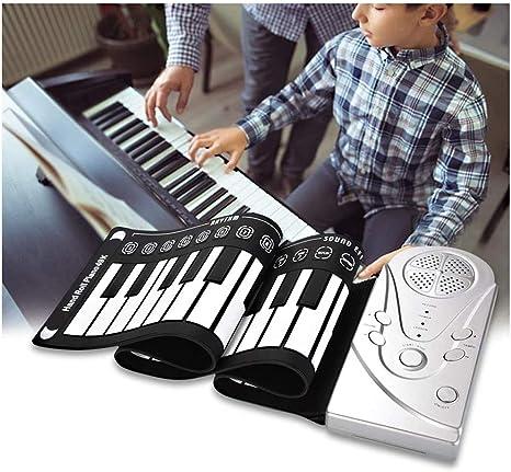 Dr.Lefran 49 Teclas de Piano Enrollable, El Piano Flexible ...