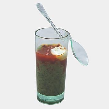 MB16 Vaso Alto - 4,8cl Venta en caja de 200 uds (10 bolsas de 20 uds). degustaciones de aperitivos en catering y hostelería: Amazon.es: Hogar