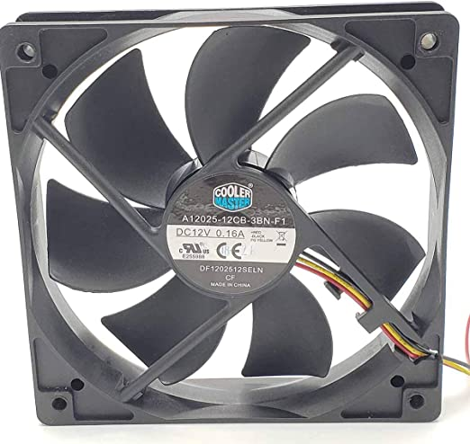 Pack of 1 FAN 120X25MM 12VDC TACH 9G1212M401