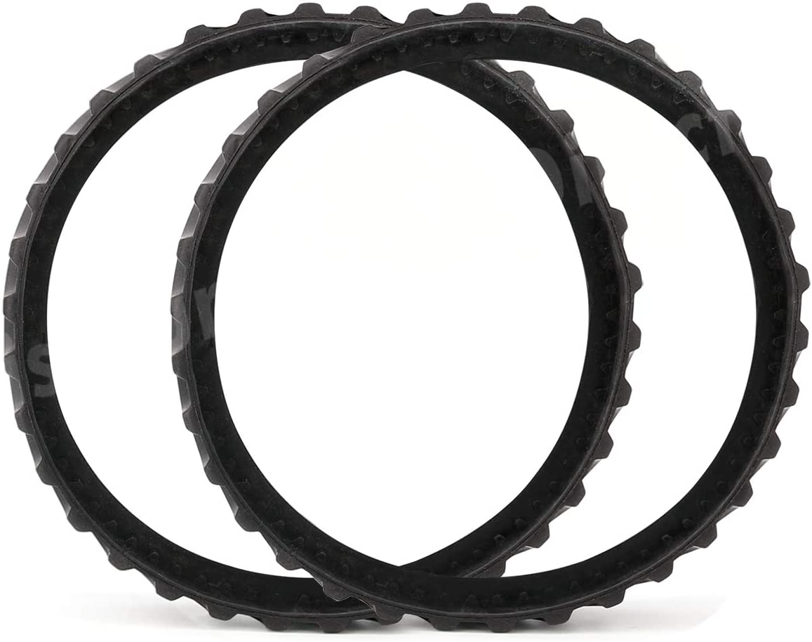 Discount Parts Direct 2 Pack R0526100 Exact Track Replacement Tire Track Wheel for Zodiac Baracuda MX8/MX6 In-Ground Pool Cleaner