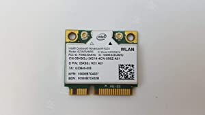 Dell 5K9GJ - WiFi Card Intel Centrino-N 6235 Mini PCI-E 300Mbps; 802.11a/b/g/n Half-Height Bluetooth 4.0 XPS 14