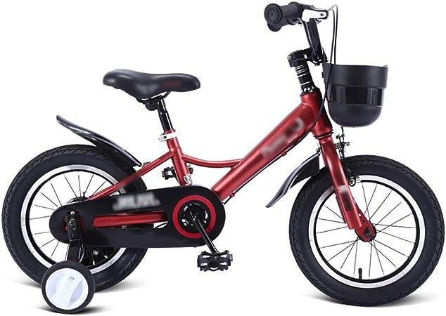 Byx Bicicleta for niños Bicicleta Niño y niña Cochecito Bicicleta de montaña 3-7 años for Altura 90-130 cm Bicicleta para niños (Color : Red): Amazon.es: Hogar